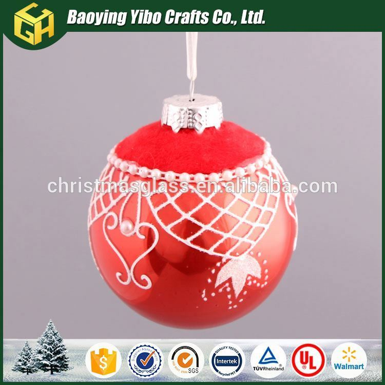 Wholesale Custom High quality stained glass ball ornament