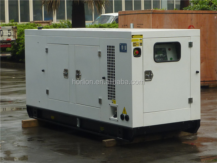 Small water cooled diesel engine three phase output Denyo type diesel generators