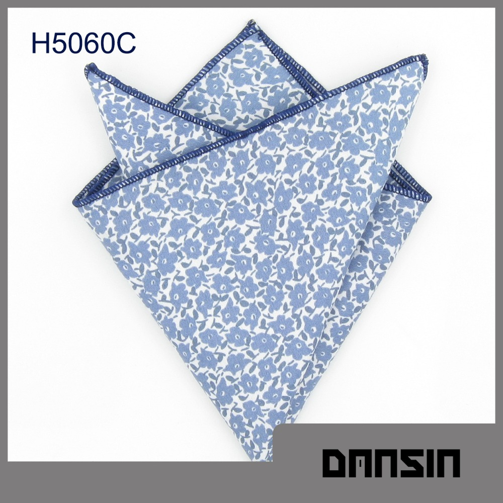 Classic Design High Quality Mens Cotton Pocket Square