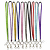 18 Inch Bling Colorful rhinestone neck straps lanyards fits Key Chain/ID Badge Holder/Mini Camera/Cell phone