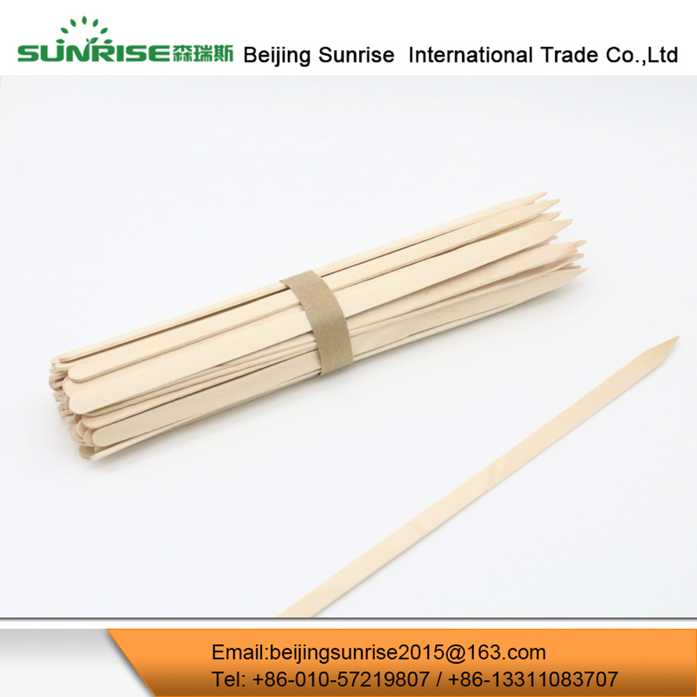 Heat Resistance Decorative Food Wooden Sandwish Skewer