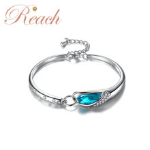 Fashion Accessories Western Style Wedding Crystal Bracelet for Women