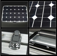 Portable folding solar panel 100W for home system