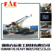 FAR130 Mobile Rock Crawler drilling rig/quarry drilling equipment/hydraulic rock drill