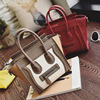 Crying face pu tote ladies bags women(SWTJU1866)