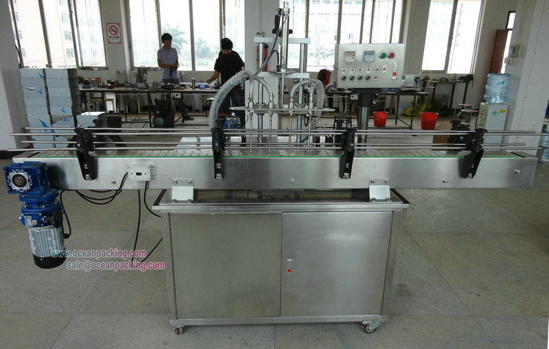 Bottom price best selling doy pack pouch liquid filling machine
