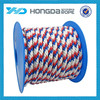 New product high-quality12 strand 9.5mm braided pp rope for wholesale