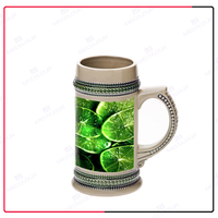 best sale cheap price custom ceramic beer stein large cold beer mug