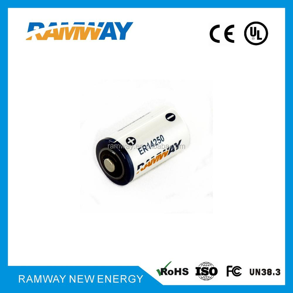 Ramway Lithium Primary Battery ER14250 for Emergency Position Indicating Radio Beacons