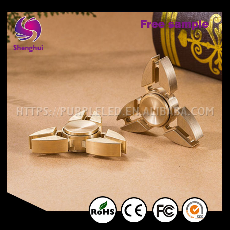 ShengHui High Quality Durable Using Various Pure Brass R188 Bearing Spinner Toy