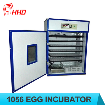 Holding 1000 eggs Digital large poultry egg incubator Used incubators for hatching eggs