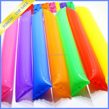 Hot sell bang bang fan inflatable clapper, Inflatable balloon cheering stick