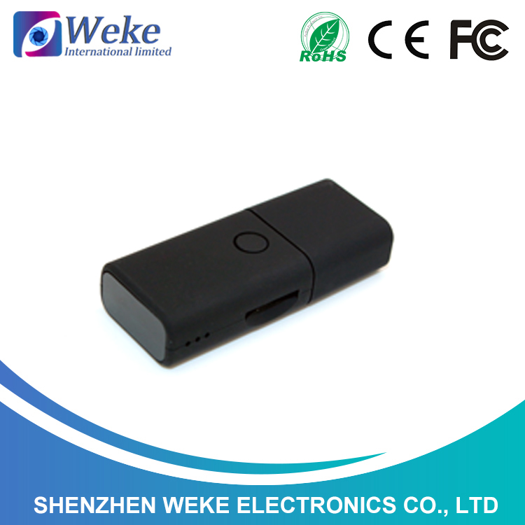 <strong>U</strong> disk mini hidden camera WEKE black mobile memory camera mini hidden cctv camera