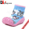 Wholesale custom cheap infant latex rubber baby sock soft TPR grippy shoe socks
