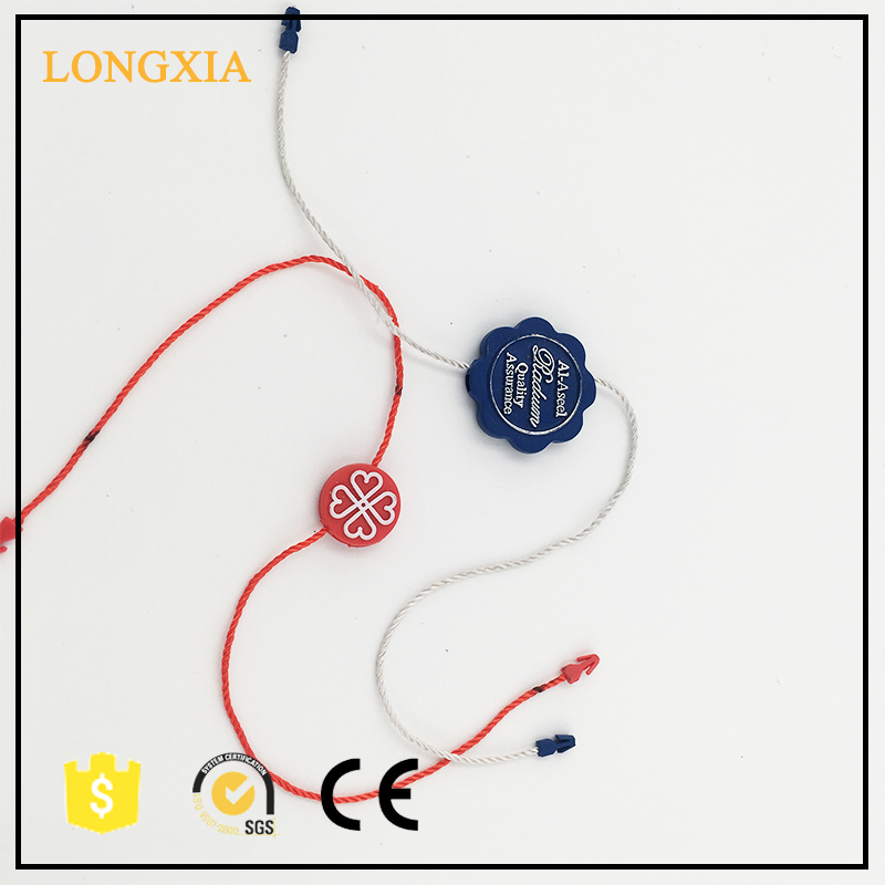 Custom Plastic Seal Tag/Plastic Number Tag