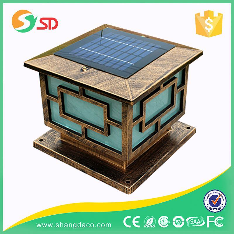 High Quality Outdoor Decorative LED Cheap Solar Powered Panel Lights For Indoors Garden