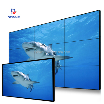 full color Hot sales 47 inch Outdoor LG Seamless Lcd Video Wall interactive video wall