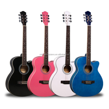 "40"" High Quality Glossy Acoustic Guitar"