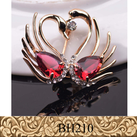 Fancylove Jewelry womens clothes accessories weddings decoration Swan brooches for evening dress decoration
