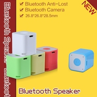 Phone Speaker Music Mini Surround Sound Music Mini Portable Speaker with bluetooth Anti-lost,Selfie,Handsfree functions