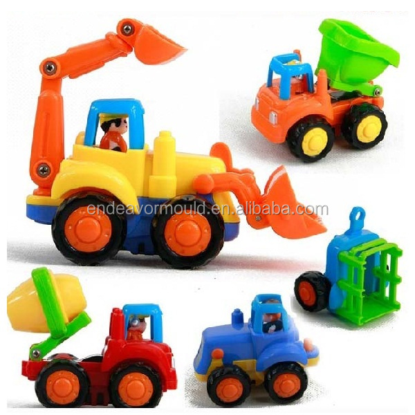 Injection Plastic Car Toy Mold