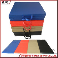 5cm Extra Thick Tri Fold Yoga Exercise Pilates Mat