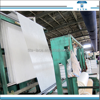 35gsm 90 degree hot water soluble non woven fabric