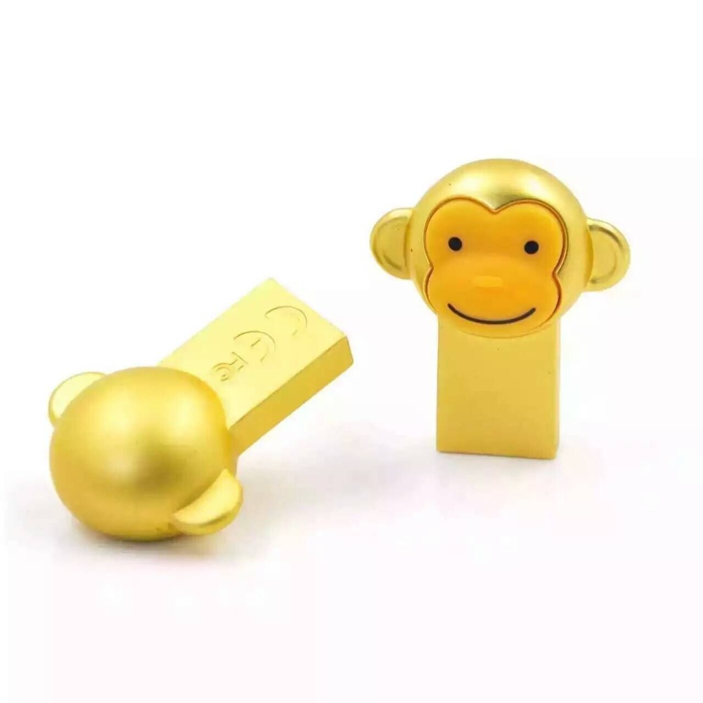 Birthday gifts for guests iron monkey flash drive usb
