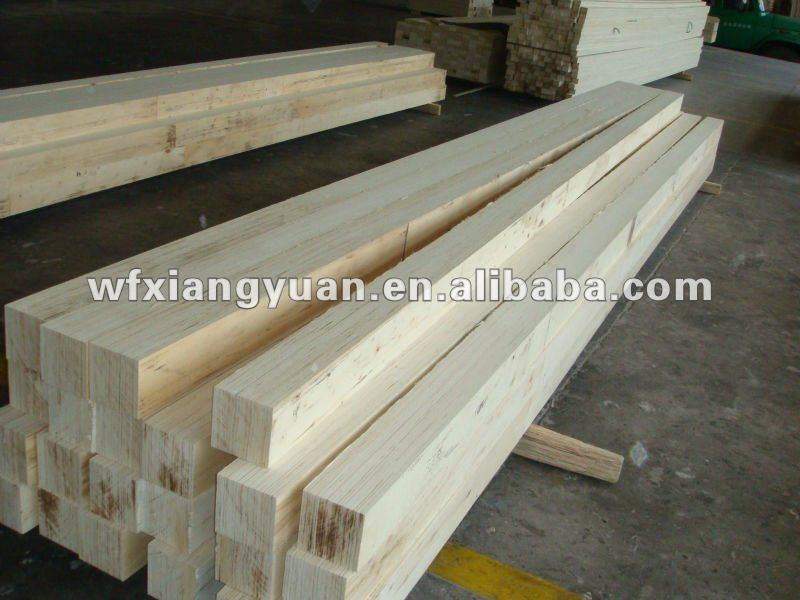 poplar /pine treated timber LVL