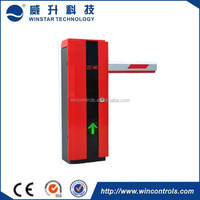 Parking management system remote control automatic vehicle boom barrier gate