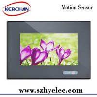 repeat one pos advertising display,low power consumption advertising display with stand or VESA mounted