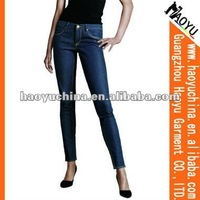 Fashion jeans brand name for women women sex jeans (HY5582)