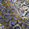 Fashional Spring Fabric Gold Foil Print