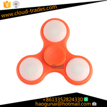 light spinner toy light Tri LED Flashing Hand Fidget Spinner high speed