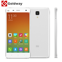 "Original iaomi Mi4 M4 4G LTE Mobile Phone 5.0"" 1920*1080P Snapdragon 801 Quad Core 3GB RAM 16GB ROM 13MP Android 4.4 MIUI 6"