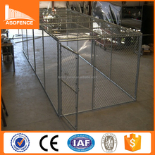 Cheap classic galvanized outdoor dog run kennels / indoor dog run