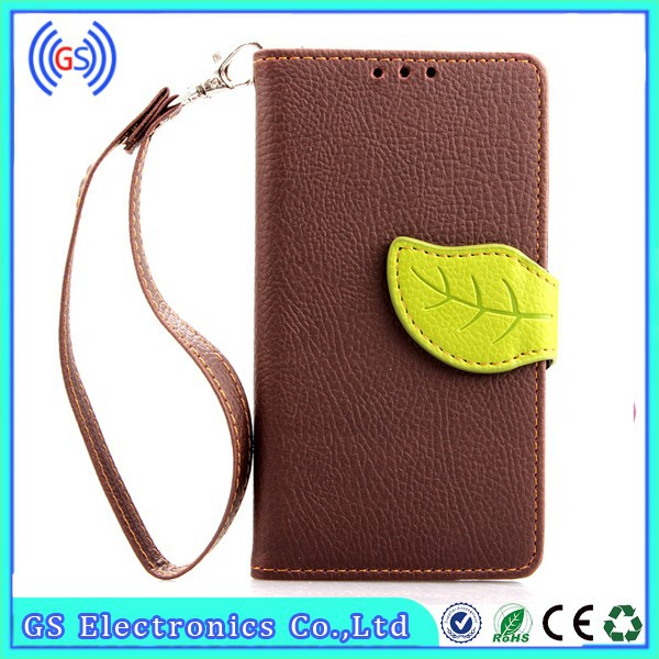 Customize Flip Leather Mobile Phone Cover For Nokia X2-01 2015 Newest Products