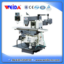 horizontal milling machine XW6136 with rotary table & vertical milling head