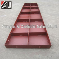New type steel formwork concrete wall forming systems