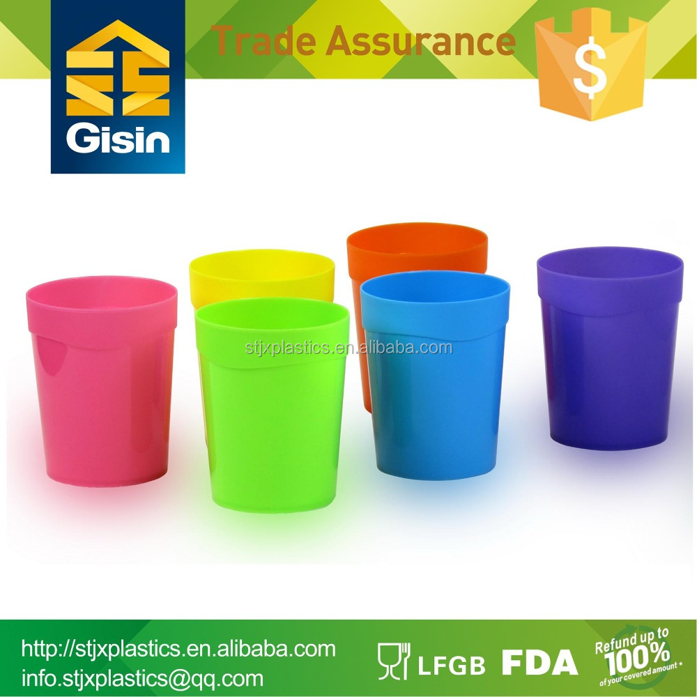 400ml Party share colored plastic water cups 6pcs/set