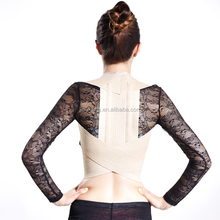 pull back and shoulders belt lumbar traction belt / Posture correction vest with low price