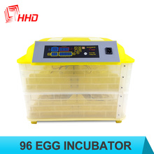 Hot selling HHD automatic 96 egg incubator china CE approved for sale YZ-96