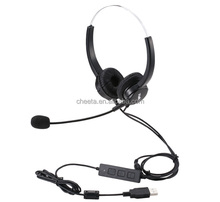 call center USB headset for computer