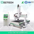 4 axis ATC 9KW Italiy HSD spindle CNC router 1325 woodworking machine