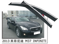 Top Quality car parts in china door rain guard for infiniti M37 2013