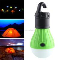 Soft Light Outdoor Hanging LED Camping Tent Light Bulb Fishing Lantern Lamp