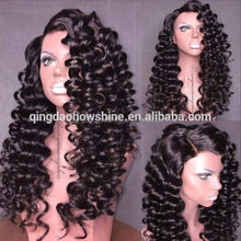 Top Beauty Fashion Indian Human Hair 30 Inch Loose Wave Natural Hair Wig
