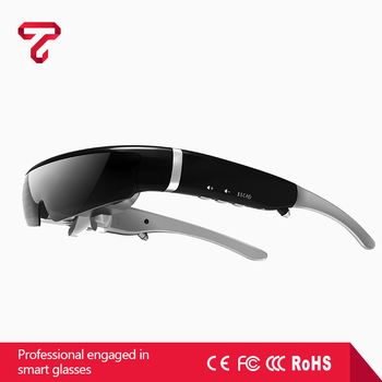 Cheap newest design 40 channel smart glasses for home theater