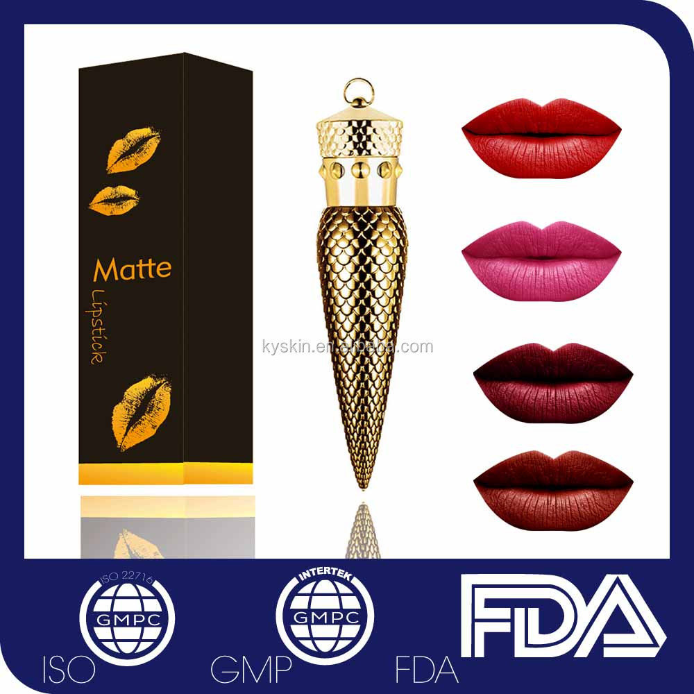 Private label Matte colors swiss miss lipstick