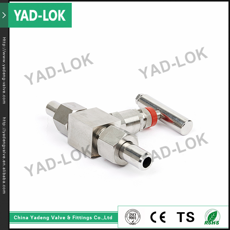 YAD-LOK Oil And Gas High Pressure Ss Sanitary Flanged Needle Valve